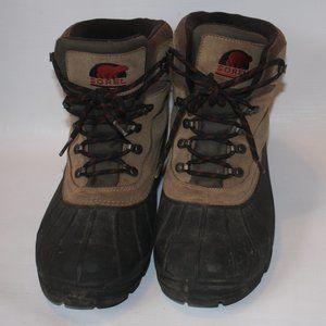 sorel men's cold mountain boot size 12